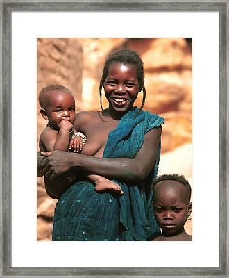 Tintam 1988 Framed Print by Huib Blom