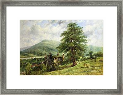 Tintern Abbey  Framed Print by Frederick Waters Watts