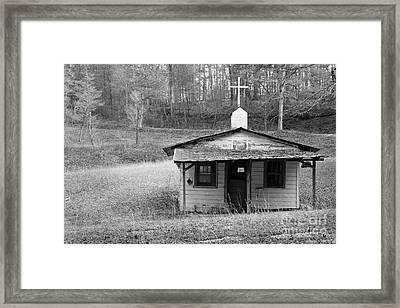 Tiny Church Framed Print by Arni Katz