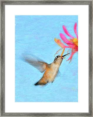Tiny Dancer Framed Print by Betty LaRue