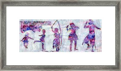 Tiny Dancer Growing Up Framed Print by Lori Kingston