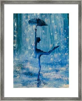 Tiny Dancer Framed Print by Mark Tonelli