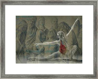 Tiny Dancer  Framed Print by Paul Lovering