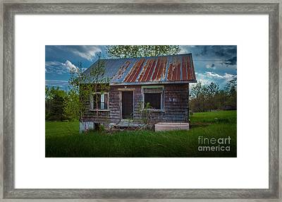 Tiny Farmhouse Framed Print