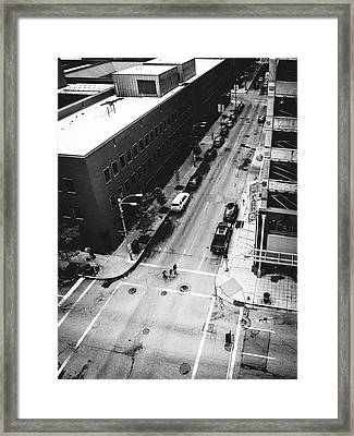 Tiny People Framed Print by Dylan Murphy