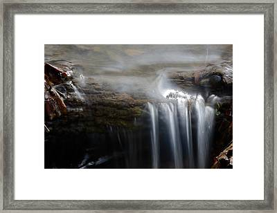 Tiny Waterfall Framed Print