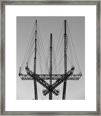 Tip Of The Sutro Framed Print