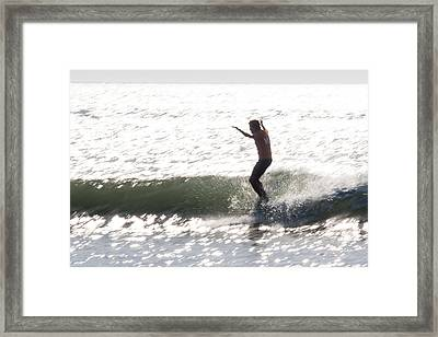 Tip Time Part1 Framed Print by AM Photography