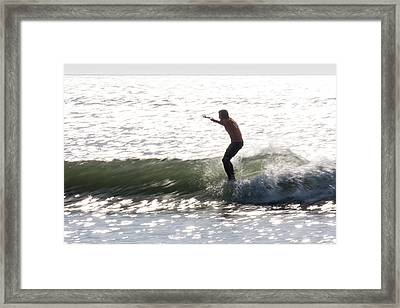Tip Time Part2 Framed Print by AM Photography