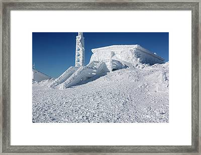 Tip Top House - Mount Washington New Hampshire  Framed Print by Erin Paul Donovan