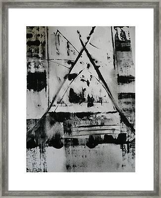 Tipi Dream Framed Print
