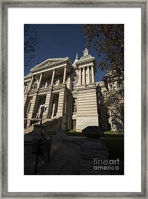Tippacanoe Courthouse Framed Print by David Bearden