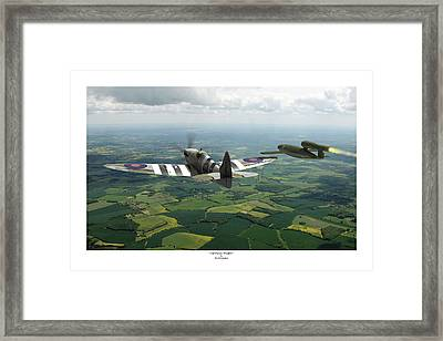 Tipping Point - Titled Framed Print by Mark Donoghue
