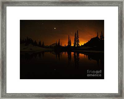 Tipsoo Amongst The Stars Framed Print by Mike Reid