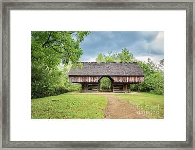 Tipton Barn Framed Print