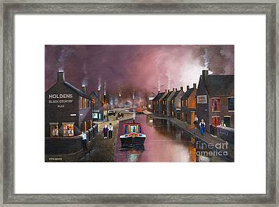 Tipton Green Branch Framed Print