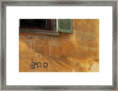 Tirano Shadows Framed Print by Art Ferrier
