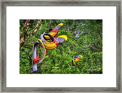 Tircans Framed Print