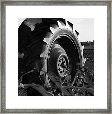 Tire Framed Print