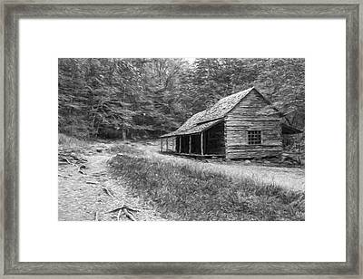 Tired And Weathered  II Framed Print