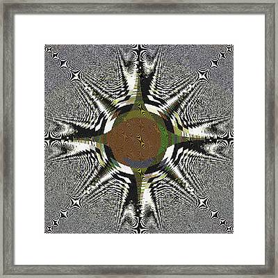 Tired Eye Framed Print by Darryl Redfern