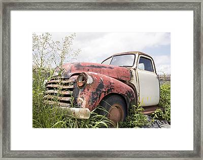 Tired Framed Print by Glennis Siverson