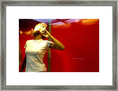 Tired Of This View Framed Print by Jez C Self