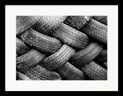Tire Framed Prints