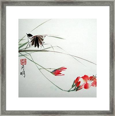 Tireless Flight Framed Print by Ming Yeung