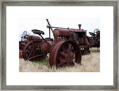 Tireless Framed Print by Joy Tudor