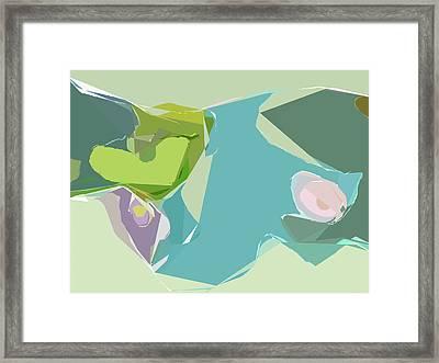 Tissue Paper Framed Print