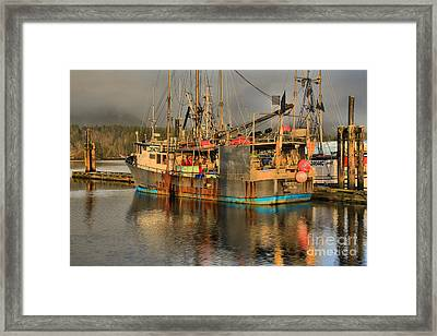 Titan Of The Pacific Framed Print by Adam Jewell