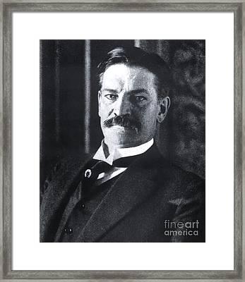 Titanic Passenger Colonel Archibald Gracie Iv Framed Print