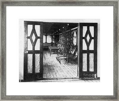 Titanic: Private Deck, 1912 Framed Print by Granger