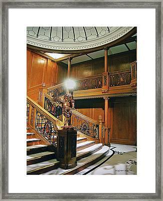 Titanics Grandeur Framed Print