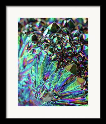 Crystal Healing Framed Prints