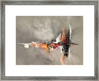Titanium Framed Print by Soraya Silvestri