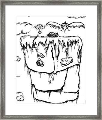 Titembe Framed Print by Jera Sky