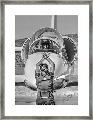 Darkstar II Taxis In Signature Edition Framed Print