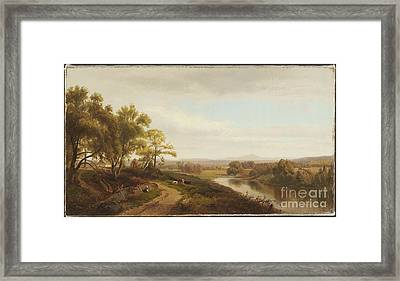 Title Valley Of The Bedford Framed Print by MotionAge Designs