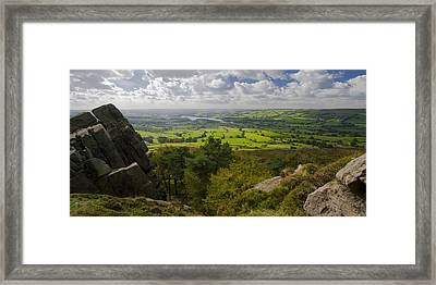 Tittesworth From The Roaches Framed Print