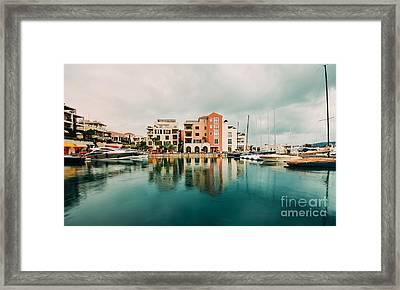 Tivat, Montenegro Framed Print
