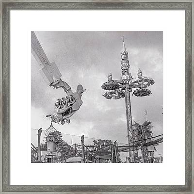 Tivoli Fly And Spin  Framed Print