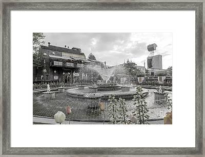 Tivoli Gardens Its Own World Framed Print by Betsy Knapp