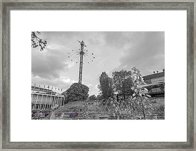 Tivoli Round And Round Framed Print