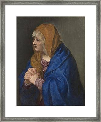 Tiziano Vecellio Di Gregorio Framed Print by MotionAge Designs