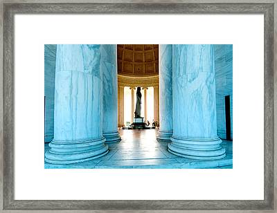 T.j. In Profile Framed Print by Greg Fortier
