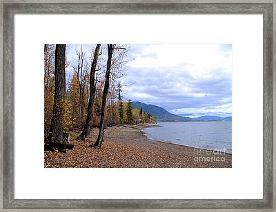 The Song Of October Framed Print