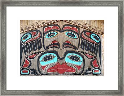 Tlingit Wall Panel Framed Print