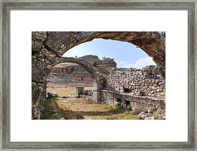 Tlos - Turkey Framed Print by Joana Kruse